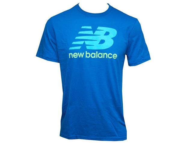 New Balance Logo T-Shirt - XL vision blue