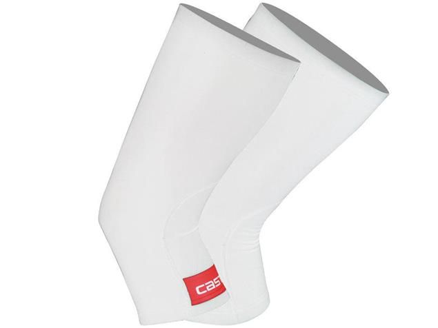 Castelli Thermoflex Knieling - M white/red