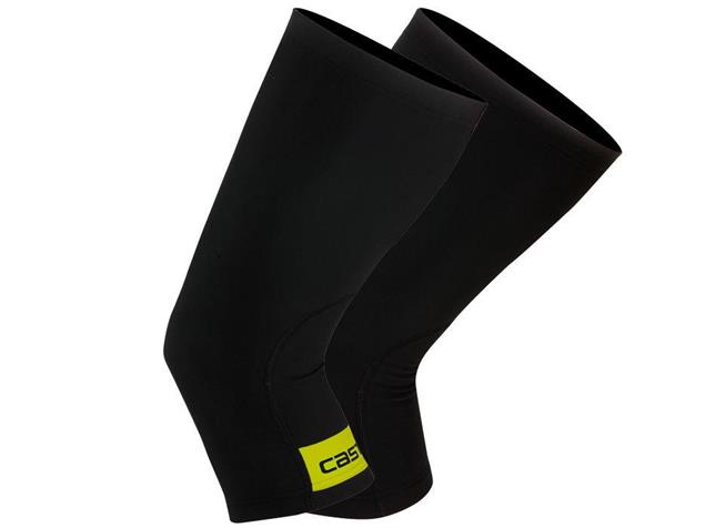 Castelli Thermoflex Knieling - M black/yellow fluo