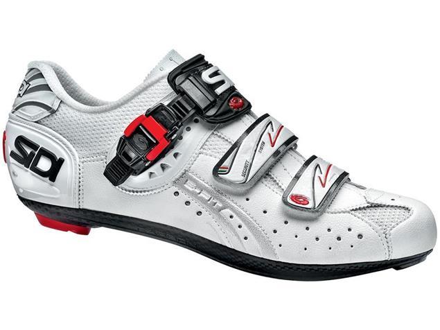 SIDI Genius 5 Fit Carbon Rennrad Schuh weiss/weiss - 46,5
