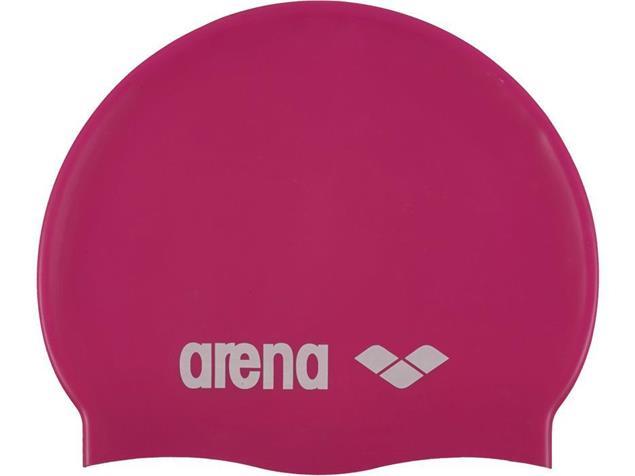 Arena Classic Silikon Badekappe - fuchsia