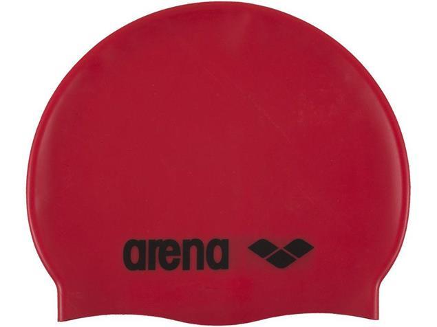 Arena Classic Silikon Badekappe - red
