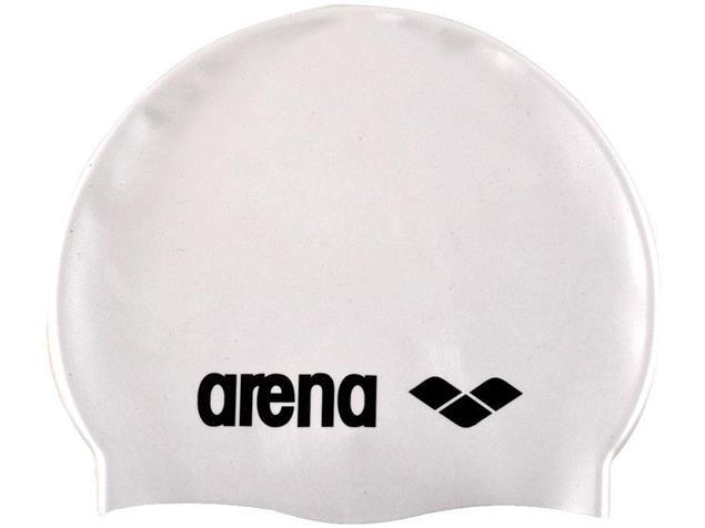Arena Classic Silikon Badekappe - white