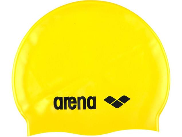 Arena Classic Silikon Badekappe - yellow