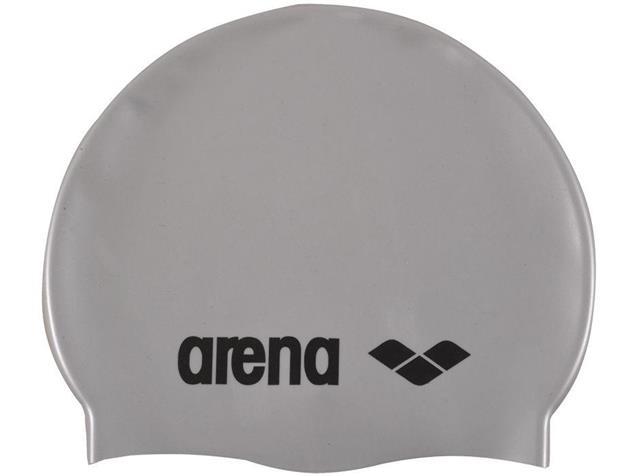 Arena Classic Silikon Badekappe - silver