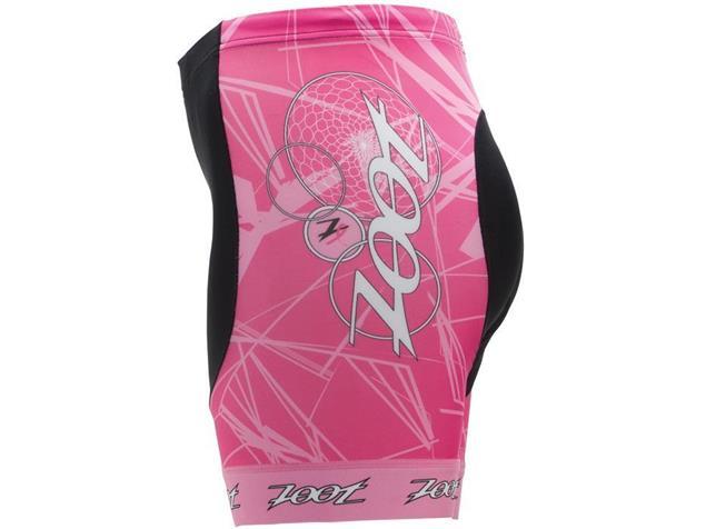 "Zoot Ultra Women BCRF 6"" Tri Short - M pink"