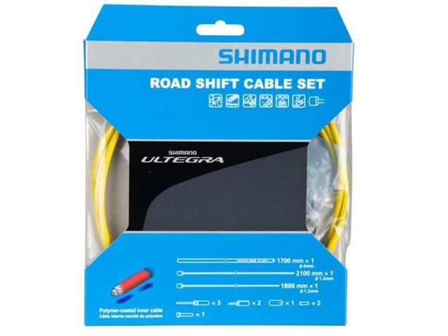 Shimano Ultegra Polymer Schaltkabel-Set - gelb