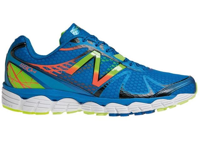 New Balance M880 BY4 Laufschuh - 10,5 blue/yellow
