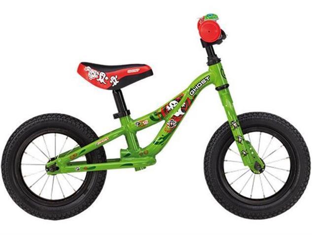 "Ghost Powerkiddy 12"" Laufrad - 12"" green"