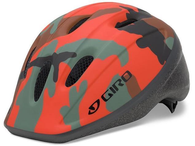 Giro Rodeo 2015 Helm - Unisize matte glowing/red camo