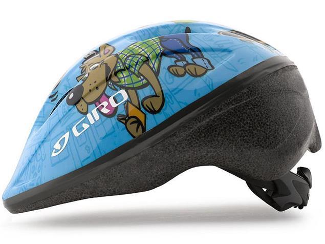 Giro Rodeo 2015 Helm - Unisize blue animals