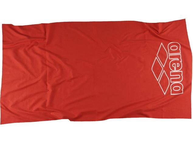 arena hilton microfaser handtuch 100x60 cm red white. Black Bedroom Furniture Sets. Home Design Ideas