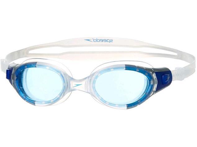 Speedo Futura Biofuse Schwimmbrille - clear/blue