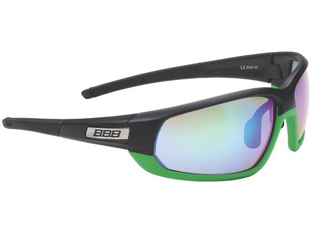 BBB Adapt BSG-45 Sonnenbrille mit 3 Gläsern mattschwarz-mattgrün/grün mlc
