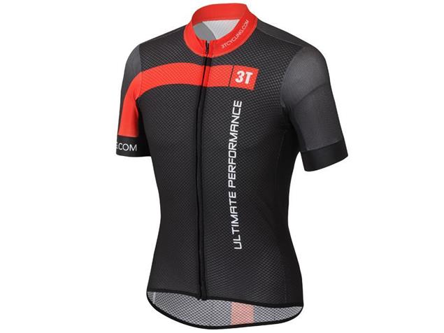 Castelli 3T Team Trikot - XXXL schwarz/rot