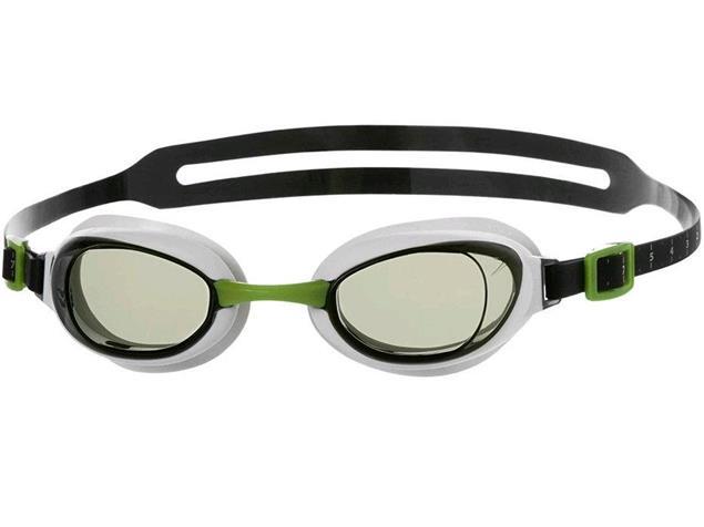 Speedo Aquapure Mirror Schwimmbrille - green/silver