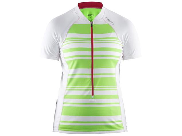 Craft Path Women Trikot - XS white/gecko