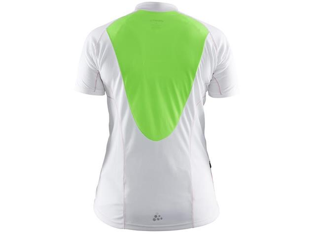 Craft Path Women Trikot - M white/gecko