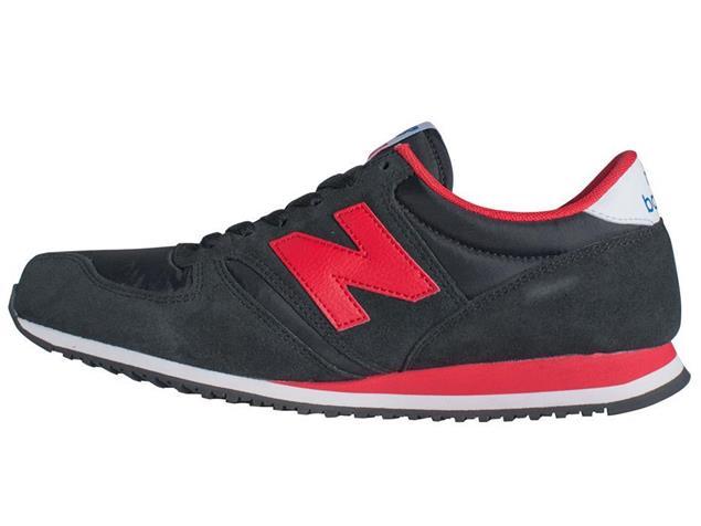 New Balance U420 SNRK Sneaker - 7,5 black/red
