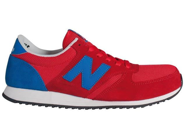 New Balance U420 SNRR Sneaker - 6 red/blue