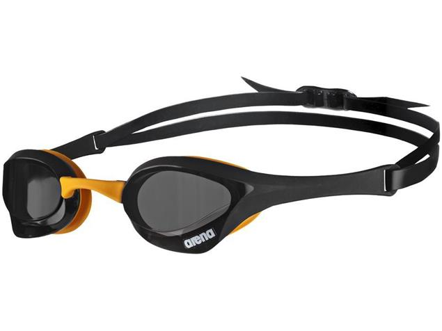 Arena Cobra Ultra Schwimmbrille - dark smoke/black/orange
