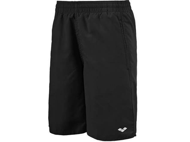 Arena Fundamentals Long Jungen Bermuda Badeshort - 140 black