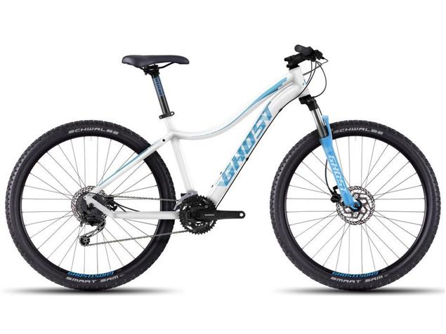 "Ghost Lanao 3 27,5"" Mountainbike Modell 2016 - XL white/blue/lightblue"