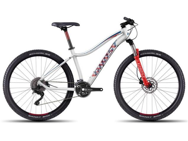 "Ghost Lanao 5 27,5"" Mountainbike Modell 2016 - XL white/red/darkred/blue"