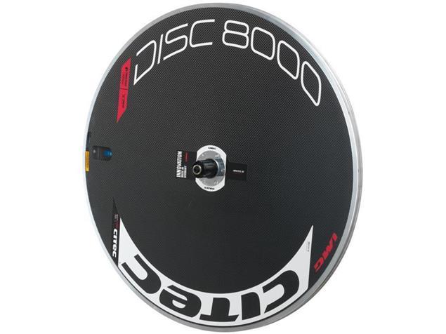 Citec Disc 8000 Scheibenrad - Shimano Drahtreifen weiß/schwarz/rot