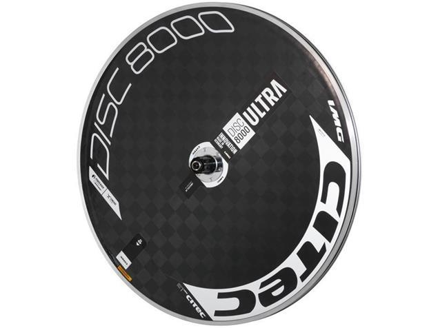 Citec Disc 8000 Ultra Scheibenrad - Shimano Drahtreifen weiß/schwarz