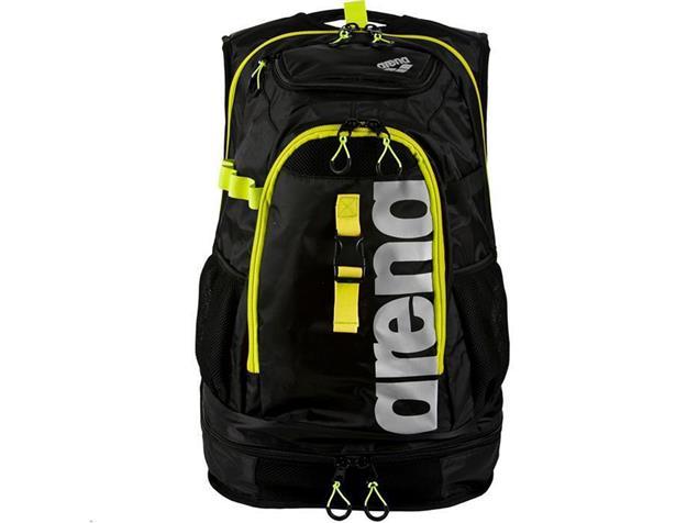Arena Fastpack 2.1 Rucksack 45 Liter - black/fluo yellow-silver