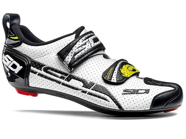 SIDI T-4 Air Carbon Triathlon Schuh - 47 white/black