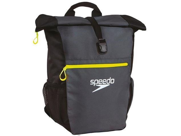 Speedo Team Rucksack III+ 45 Liter - oxid grey/black/fluo yellow