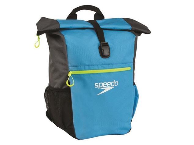 Speedo Team Rucksack III+ 45 Liter - japan blue/grey/fluo yellow