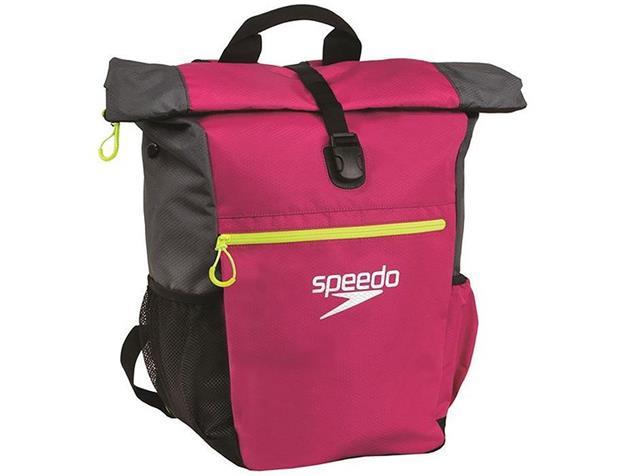 Speedo Team Rucksack III+ 45 Liter - magenta/grey/fluo yellow