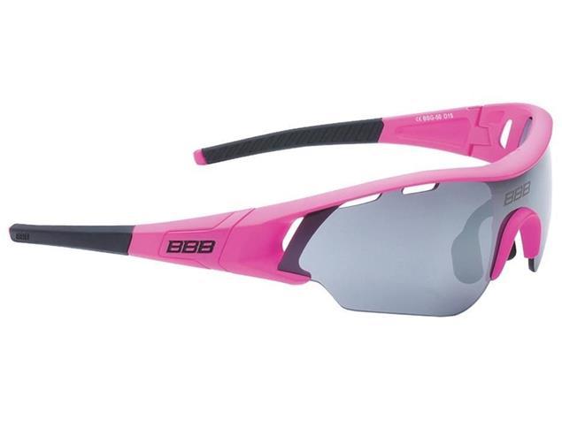 BBB Summit BSG-50 Sonnenbrille mit 3 Gläsern - mattmagenta