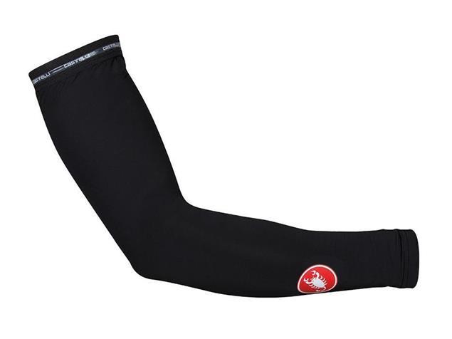 Castelli UPF 50+ Light Sleeves Armwarmer Armling - XL black