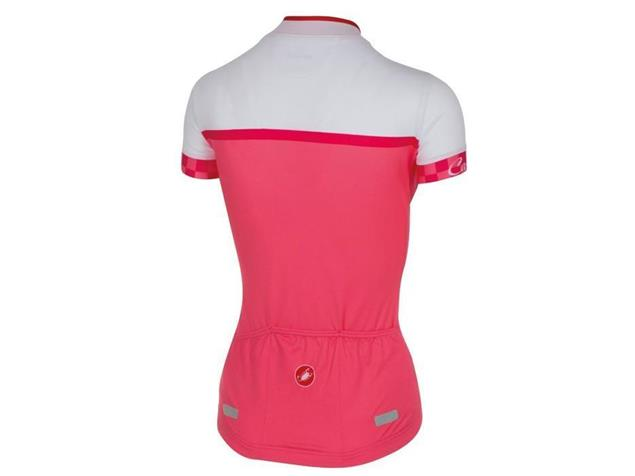 Castelli Duello Women Trikot - S pink