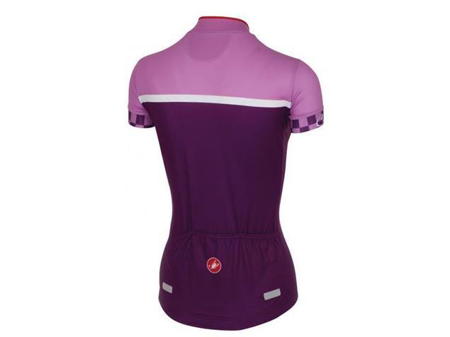 Castelli Duello Women Trikot - S violet