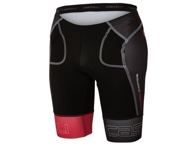 Castelli Free Tri Short - L black/red