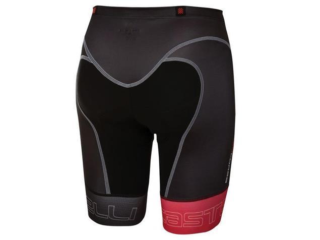 Castelli Free Tri Short - XXL black/red
