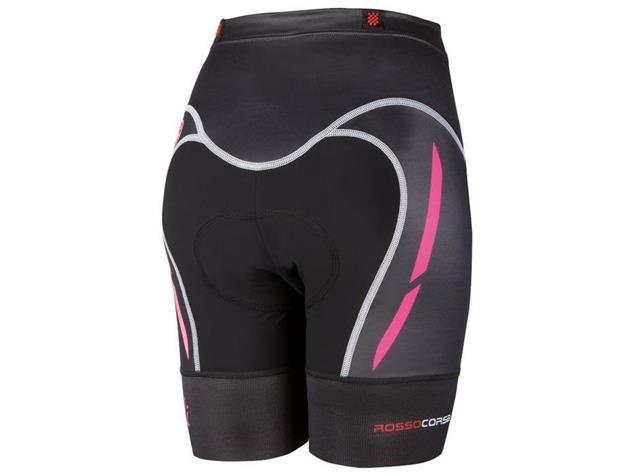 Castelli Free Women Tri Short - S black/pink fluo
