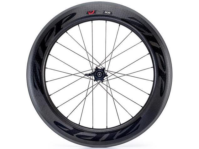 Zipp 808 Firecrest Tubular Hinterrad - Shimano/SRAM Schlauchreifen schwarz