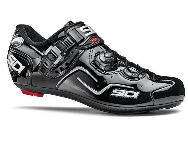SIDI Kaos Rennrad Schuh - 48 schwarz/schwarz