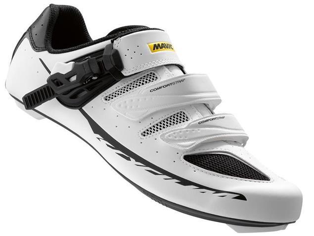 Mavic Ksyrium Elite II Rennrad Schuh - 47 1/3 white/black