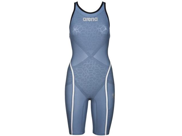 Arena Powerskin Carbon Ultra Wettkampfanzug FBSL, Closed  Back - 30 bluesteel/silver