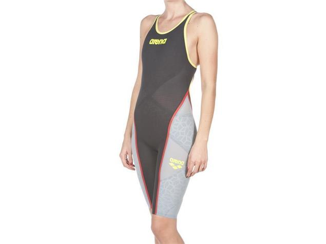 Arena Powerskin Carbon Ultra Wettkampfanzug FBSL, Closed  Back - 32 dark grey/fluo yellow