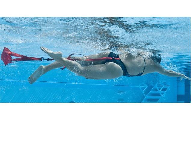 Finis Swim Parachute Schwimm-Fallschirm 12 Inch, navy