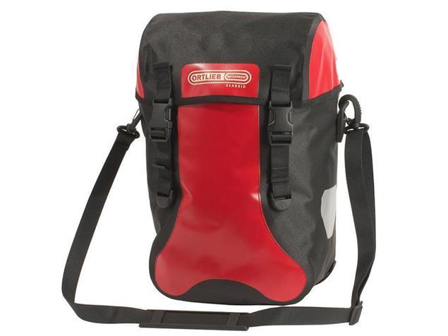 Ortlieb Sport-Packer Classic Fahrradtasche - rot/schwarz