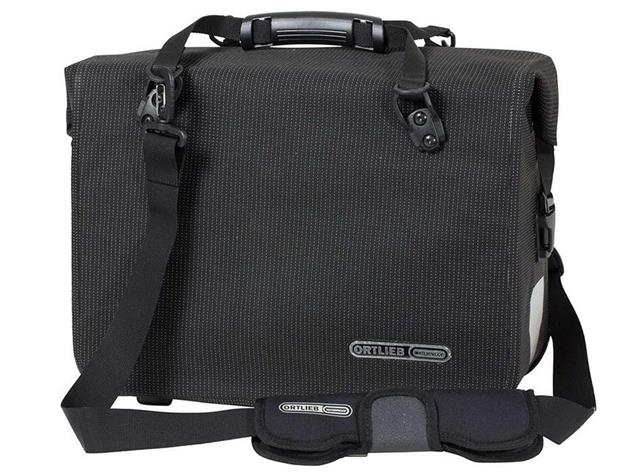 Ortlieb Office-Bag High Visibility QL3.1 21 L Fahrradtasche black reflective